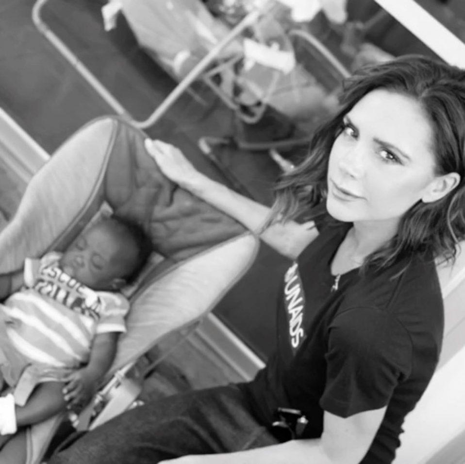 Victoria Beckham, NLHT, Brooklyn Beckham
